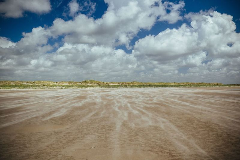 Horizon Sand Wind Beach Cloud - Sky Sky Land Tranquil Scene Scenics - Nature Tranquility Environment Landscape Nature Beauty In Nature No People Day Non-urban Scene Outdoors Field Remote The Great Outdoors - 2019 EyeEm Awards