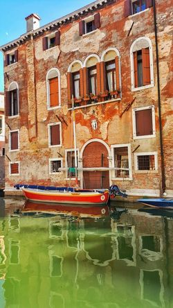 Window Architecture Building Exterior Day No People Outdoors Built Structure Sky Venecia Venezia Venice, Italy Venice Venice Canals