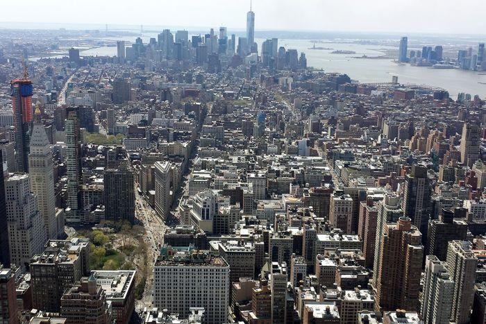 Cityscape Galpay New York Skyscraper Tourism Urban Skyline USA Zb