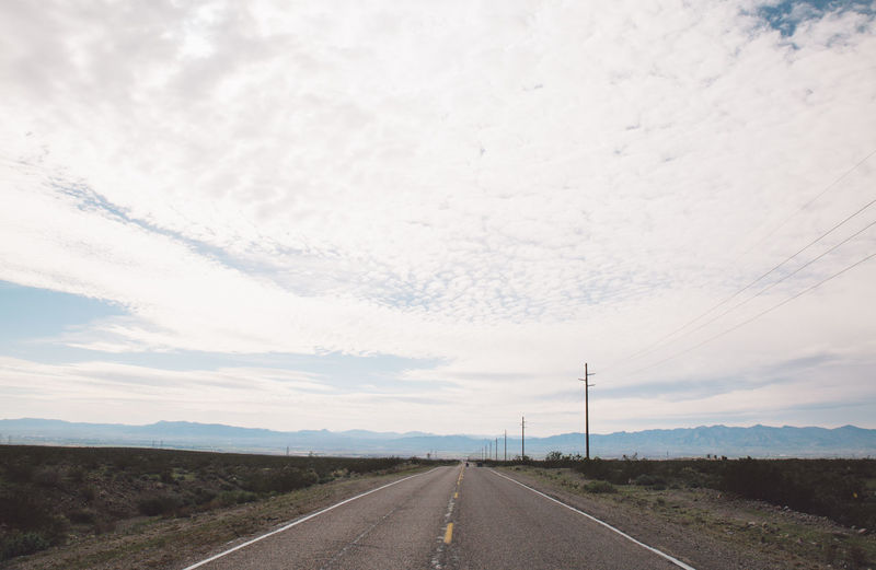 Arizona Road Route 66 Tourist Attraction  Arid Climate Arid Landscape Beauty In Nature Cable Cloud - Sky Day Diminishing Perspective Electricity Pylon Landscape Nature No People Outdoors Road Roadtrip Route66 Sky The Way Forward Tourist Destination Transportation