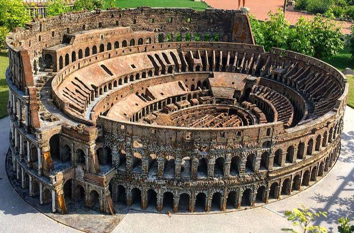 Italiainminiatura Colosseo Colosseum