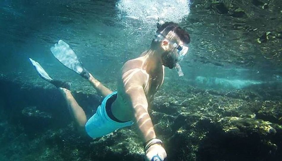 Ritrovamenti ❤ Summer Sea Sun Beach Immersion Gopro Goprohero Goprohero3 Goprouniverse Blue Bluehole Goprotravel Diving Scubadiving Water_captures Water_shots Water_of_our_world Fun Funny Nature Nature_perfection Naturelovers NaturalBeauty Italy Igers Puglia apulia like love passion
