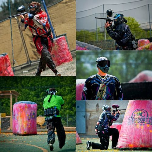 SWAT vs FBI Throwback Puterajaya 2012 Gopro painball
