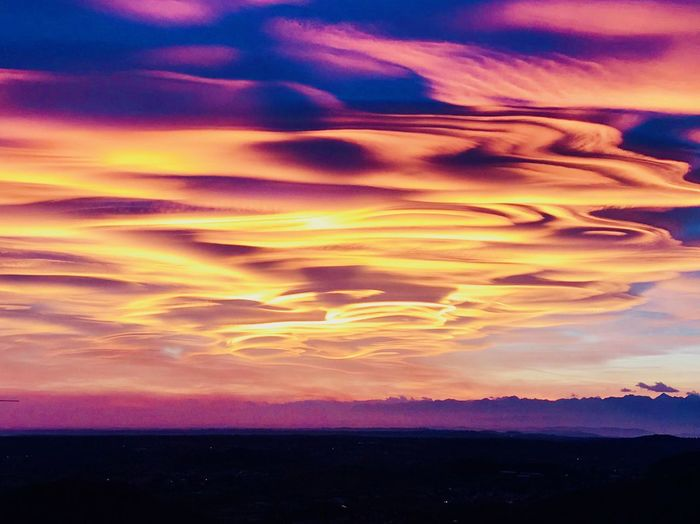 Sky Beauty In Nature Cloud - Sky Sunset Scenics - Nature Tranquility Tranquil Scene