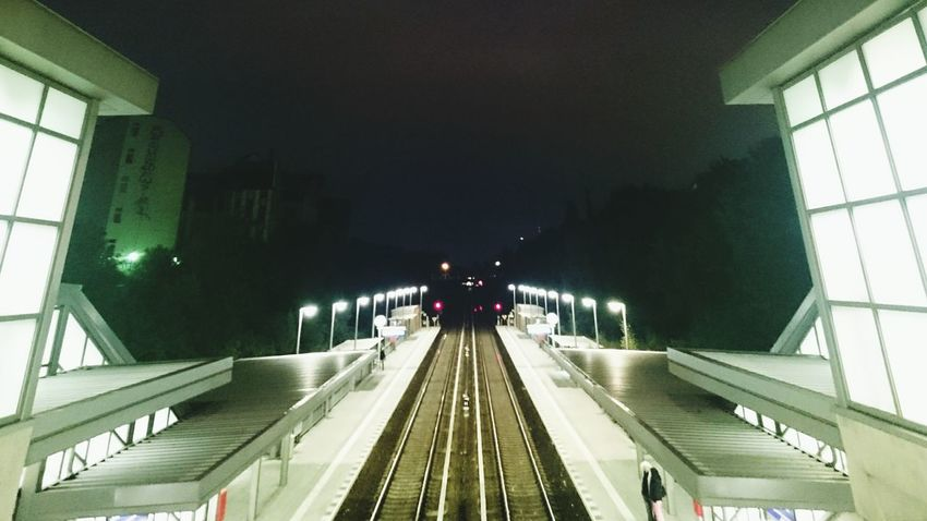 Architecture Nightphotography Railway Berlin Perspectives The Street Photographer - 2015 EyeEm Awards Notes From The Underground Xwing