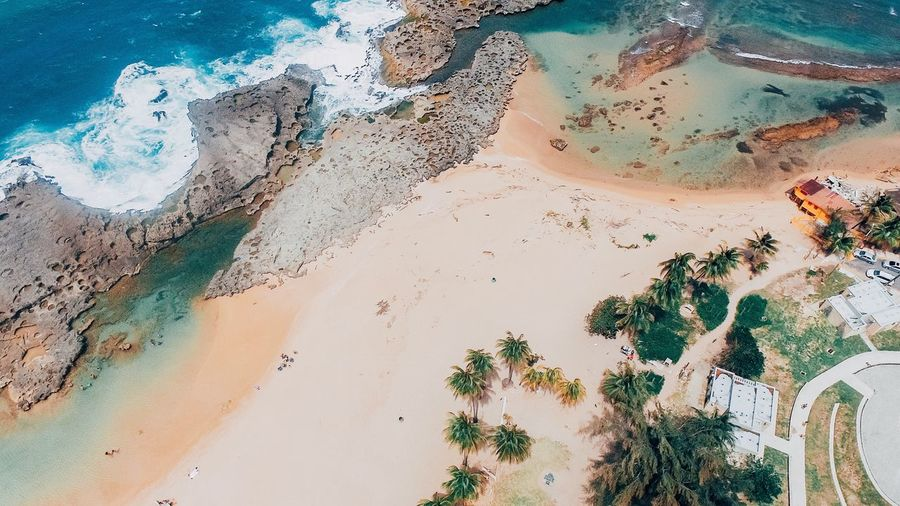 Aerial Photography Aerial View Drone Photography Sand Beach Nature Sea High Angle View Scenics Landscape Beauty In Nature Water Outdoors Day No People Sand Dune Sky Puerto Rico