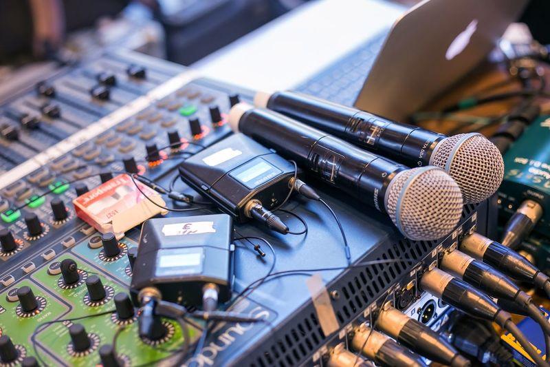Microphones on