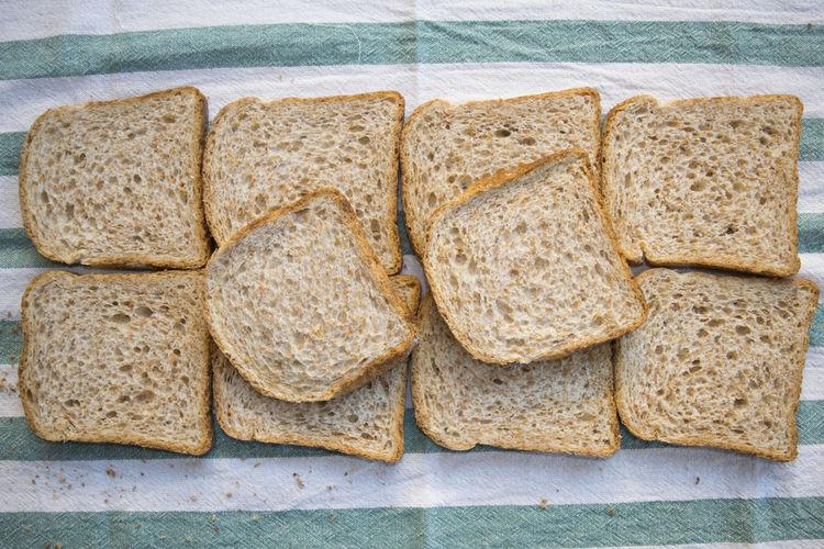 Sandwich Snack Bread Cured Filling Ham Preparing Snacks