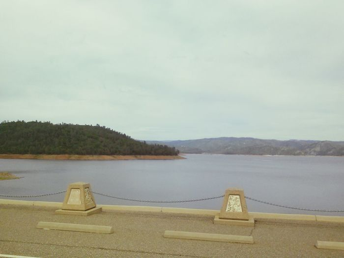 Oroville Dam Lake Oroville