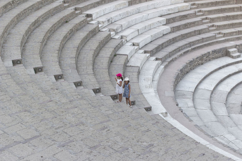 Anphitheater Archeology Pompei. Archeologia Pompeii Ruins Pompéi Theater Travel History Italy Old Summer Tourism