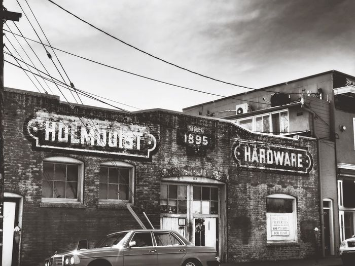 Back In The Day Amaricana Hardware Store Old Buildings Building Exterior City Cloud - Sky Street Architecture Day No People