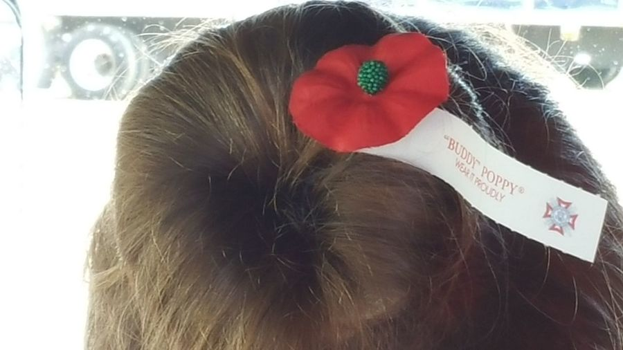 Hanging Out That's Me Check This Out Traveling Husband Took This Picture Of Me Flower In My Hair Flower From Donation To Veterans Enjoying Life