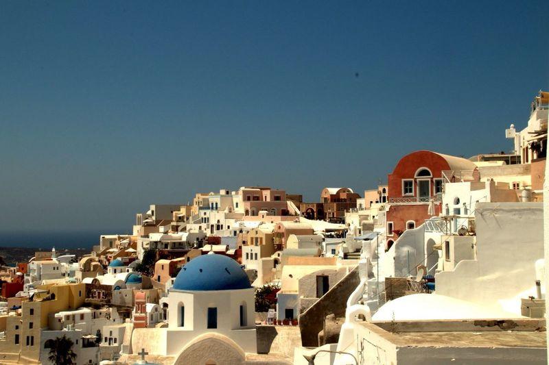 Santorini, Greece Trip Beatiful White And Blue