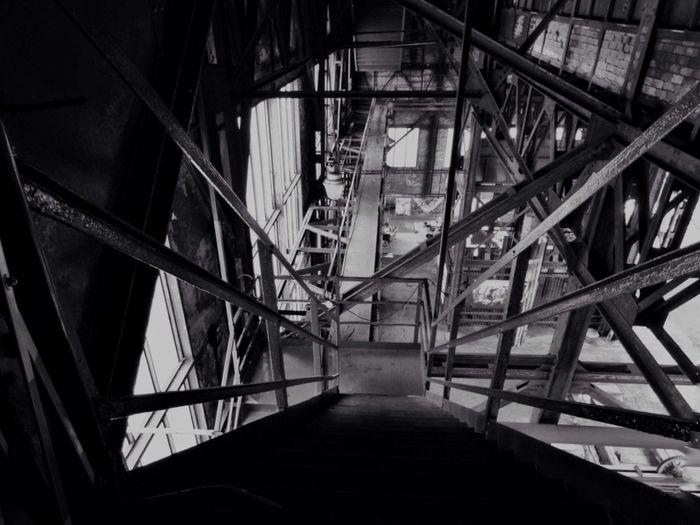 Low angle view of walkway