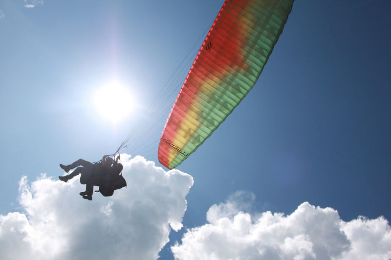 Parasail landing Pokhara Nepal Adventure Cloud - Sky Hangglider Hanggliding Mid-air Nepal Nepal Travel Parachute Paragliding Pokhara, Nepal Sky Travel Destinations