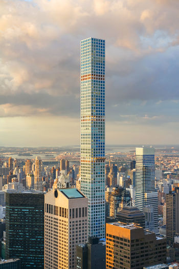 432 Park Avenue Architecture Cityscape Manhattan Manhattan Skyline NY NYC New York City Skyline USA United States America Big Apple Building Destination Famous Place Iconic Outdoors Skinny Tower Skyscraper Symbol Tower Urban Vacation Vertical