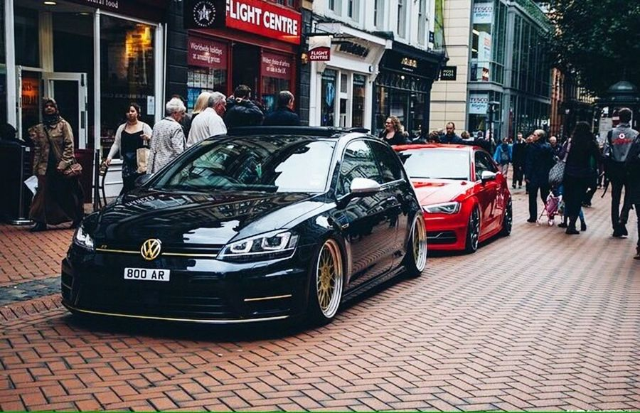Audi S3 and Golf R Mk7 Photography Sexycars Beautiful Cars