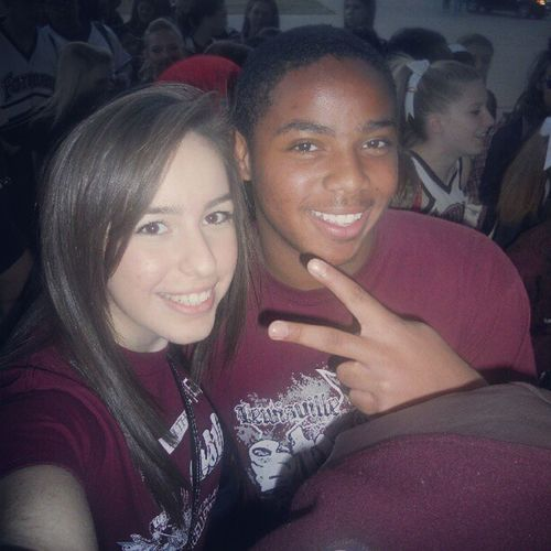 Throwbackthursday  with @charles_bell18 :D LHS Fightingfarmers Lewisville highschool maroon&white