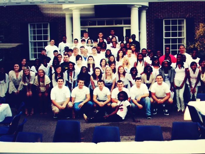 Imma miss my class!. We came through some things together. Much love 2013!.