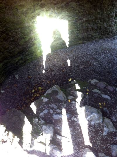 Irish Castle Shadow Light Travelling Enjoying Life Taking Photos Check This Out Creative Light And Shadow That's Me