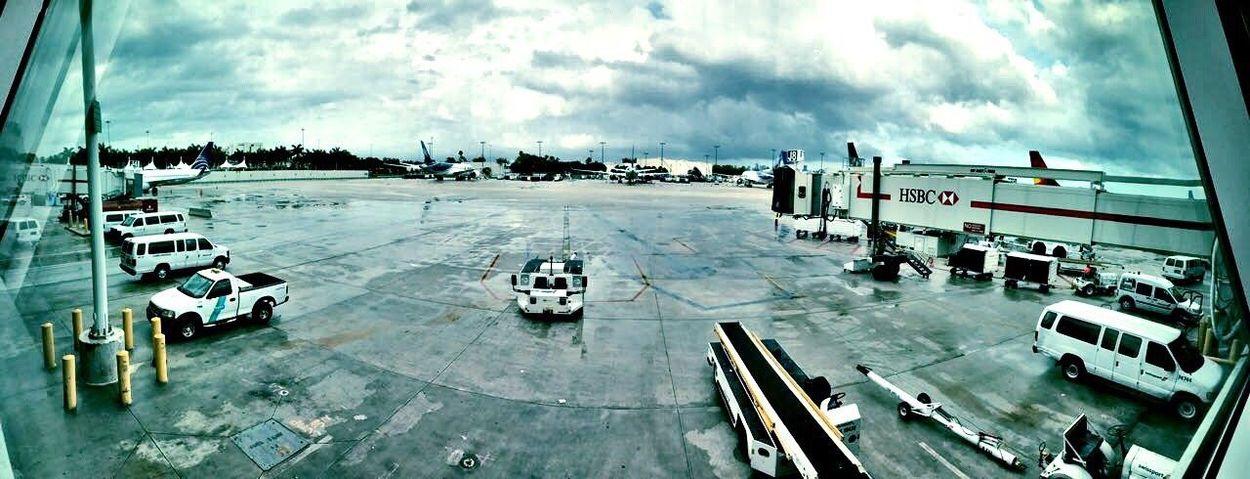 Miami International Airport ✈️ Airport Airplane Day Cloud - Sky Transportation Travel Mode Of Transport High Angle View Airport Runway Land Vehicle Sky Outdoors No People Miami, FL Miami Miami Beach Miami FL Usa 🇺🇸☀️ USA USA Photos First Eyeem Photo