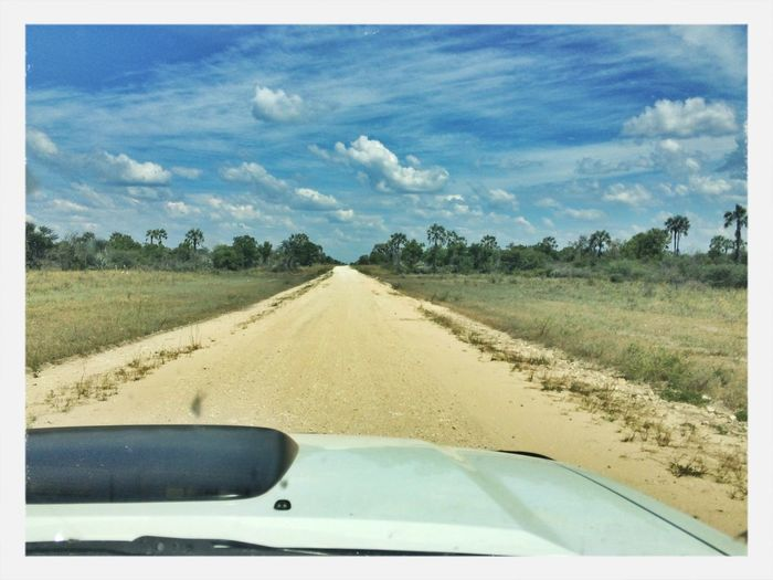 On The Road to Etosha Nambw2014