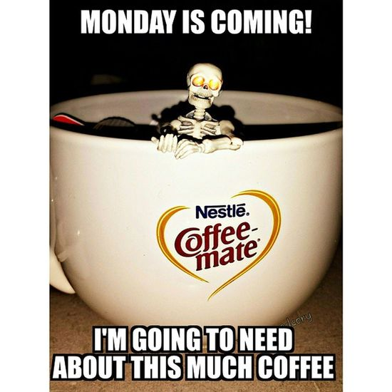 Why does this keep happening!?! Monday Makeitstop Coffeeordeath