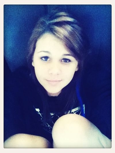 Me at my house :) bored