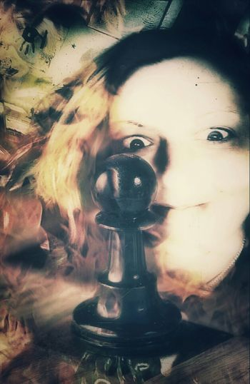 """""""You Will Be My Pawn Now!"""" ...I have become sick of playing nice. ArtWork Pawn Dark Art Art Last Selfie Digital Art Photo Manipulation Art Gallery That's Me Selfie"""