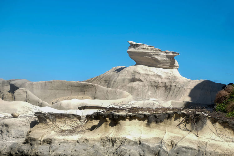 Kapurpurawan rock formation in Ilocos Norte Philippines Formation Ilocos Ilocos Norte, Philippines  Kapurpurawan Nature Philippines Rock Beauty In Nature Clear Sky Day Geological La Landscape Luz Nature No People Outdoors Sky Tourism Travel Destination Travel Destinations