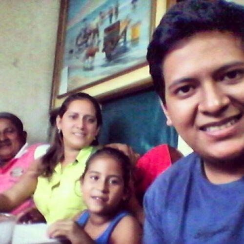 Selfie HBDDiego familia