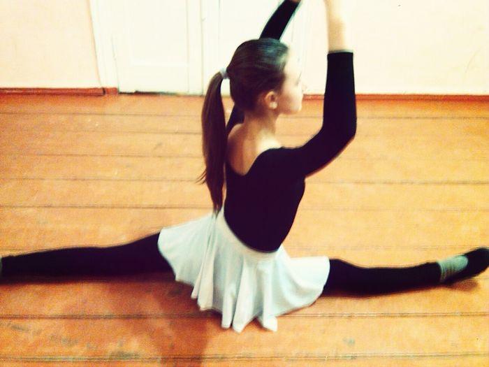 хореография шпагат растяжка Форма