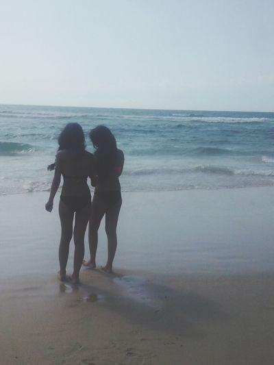 Summer day [©ambodia] Sisters♡ Sun ☀ Beach Photography