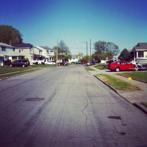 {instagram post} stranger in a strange land #suburbia #photography #street #landscape Street Suburbia Landscape Photography