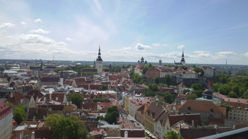 City Travel Destinations Architecture Urban Skyline Travel Tourism Outdoors No People Cultures Nofilter Huaweiphotography Vacations Travel Wanderlust Tallinn Estonia Skyline