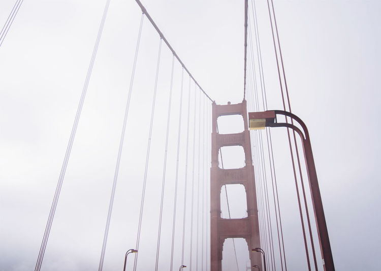 San Francisco SF Golden Gate Bridge Foggy Weather Lovealwayswins