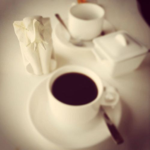 Give me one cup of cup of coffee then I'll give you one billion ideas.
