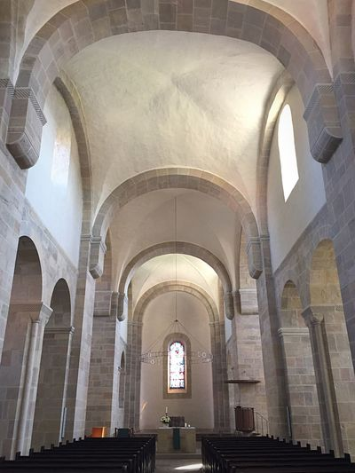 Kloster Lippoldsberg Indoors  Arch Architecture Ceiling Built Structure Architecture And Art Architectural Feature Arched No People Interior History Tourism