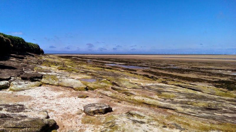 Nature Landscape No People Outdoors Sky Day Horizon Over Water Water Scenics Nature Fossil Beach Sea West Kirby UK The Great Outdoors - 2017 EyeEm Awards