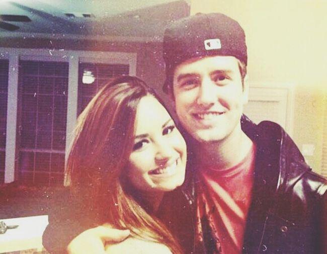 Hello World Demi Lovato Smile Logan Henderson
