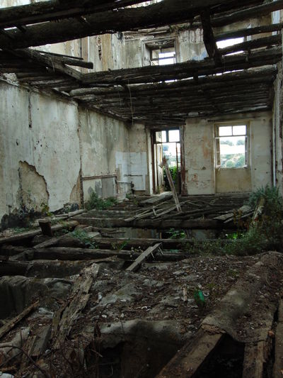 Abandoned Architecture Built Structure Damaged Deterioration House No People Obsolete Ruined