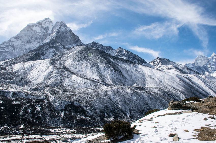 Untitled Export Lost In The Landscape Beauty In Nature Cold Temperature Landscape Mountain Mountain Range Nature Scenery Snow Snowcapped Mountain