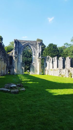 Historical Site History Through The Lens  Historical Building Ruins Amazing Architecture Arched Windows Days Out Abby