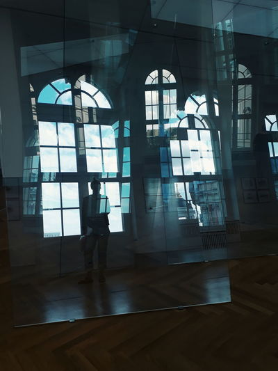 Ways Of Seeing Architecture Reflection Museum Modern Architecture Architecture Art Modern Art Window Politics And Government Business Architecture See Through Transparent Glass - Material Translucent Skylight Building Historic
