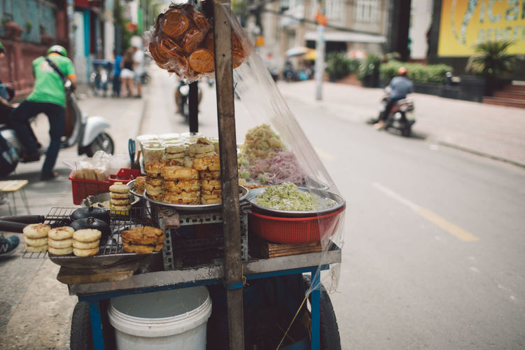 Street food for sale