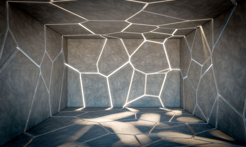 Wall Cement Concrete Background Texture Cracked Broken Pattern Gray Abstract Rough Textured  Grunge Dirty Stone Floor Structure Architecture Old Construction Material Design Wallpaper Empty Concrete Wall Building Exterior Space Urban Modern Interior 3D 3d-rendering Render Tile
