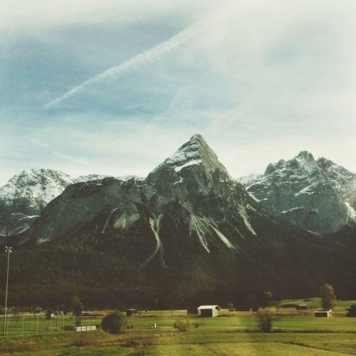 On the way home. EyeEm Nature Lover Autumn Fall Beauty Mountains Mountains And Sky Alps Austria