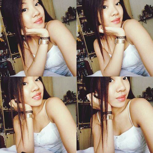 Pinay Asiangirl Asiangirls Girl Girls Filipina Style Fashion Selfie Smile