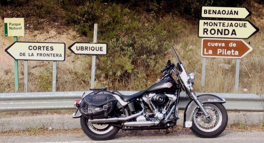 Roadtrip Road Trip On The Road Ronda Montejaque SPAIN España Harleydavidson Harley Davidson Ubrique