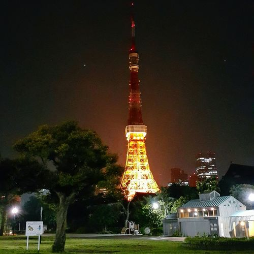Tokyo Tower ♡ 🌓 Tokyo,japan Night Lights Tokyo Tower The Traveler - 2015 EyeEm Awards Travel Traveler AnnelGomez Eyeempinay Pinay Traveler Samsung Galaxy Note 4 Cityscapes
